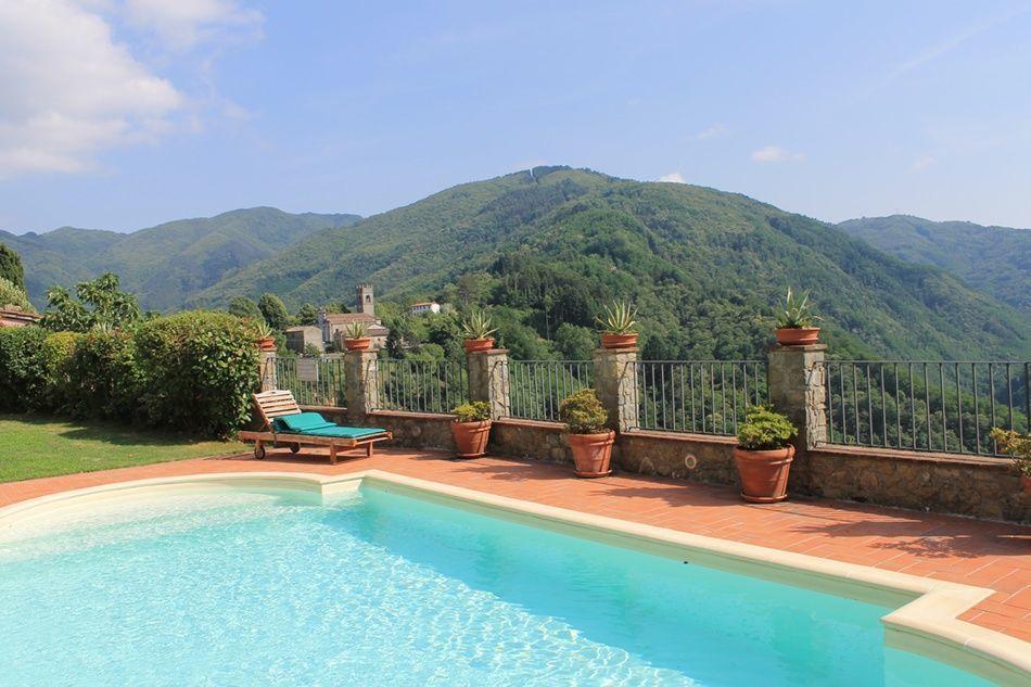 Bagni Di Lucca Holiday Rental Lugliano located Tuscany, Italy.